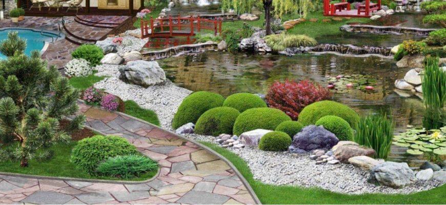 Пруд или бассейн на загородном участке